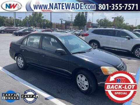 2003 Honda Civic for sale at NATE WADE SUBARU in Salt Lake City UT