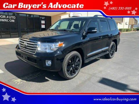 2015 Toyota Land Cruiser for sale at Car Buyer's Advocate in Phoenix AZ