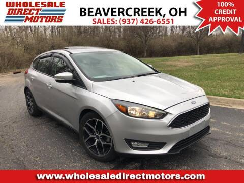 2018 Ford Focus for sale at WHOLESALE DIRECT MOTORS in Beavercreek OH