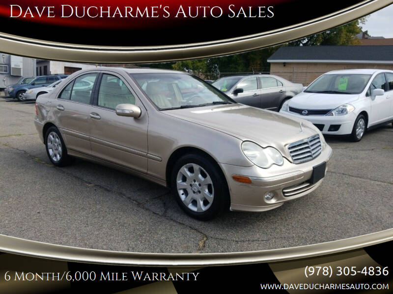 2005 Mercedes-Benz C-Class for sale at Dave Ducharme's Auto Sales in Lowell MA
