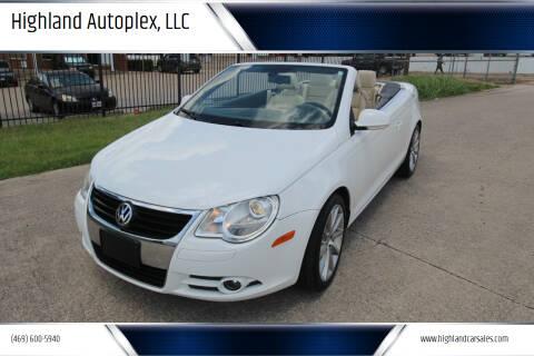 2007 Volkswagen Eos for sale at Highland Autoplex, LLC in Dallas TX