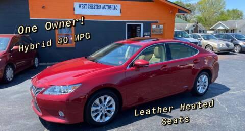 2013 Lexus ES 300h for sale at West Chester Autos in Hamilton OH