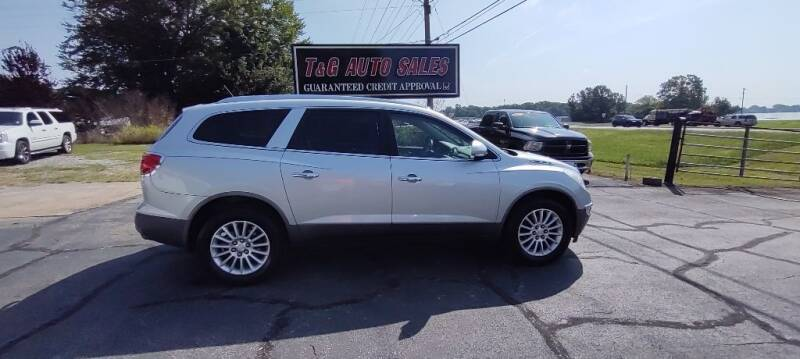 2012 Buick Enclave for sale at T & G Auto Sales in Florence AL
