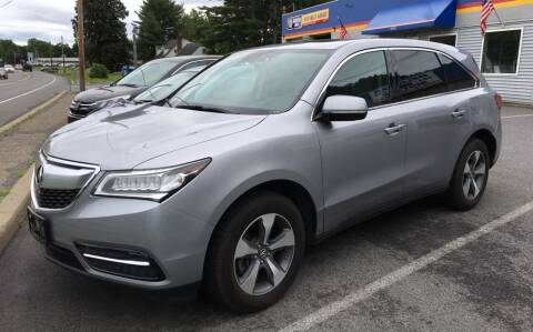 2016 Acura MDX for sale at Delafield Motors in Glenville NY