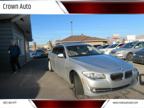 2011 BMW 5 Series for sale at Crown Auto in South Salt Lake City UT