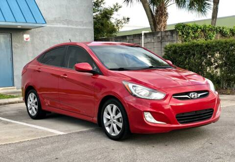 2012 Hyundai Accent for sale at Sunshine Auto Sales in Oakland Park FL