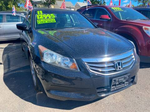 2011 Honda Accord for sale at GRAND USED CARS  INC in Little Ferry NJ