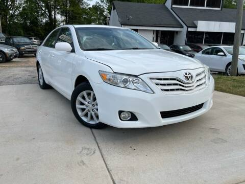 2010 Toyota Camry for sale at Alpha Car Land LLC in Snellville GA