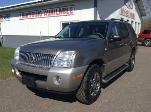 2003 Mercury Mountaineer for sale at Steves Auto Sales in Cambridge MN