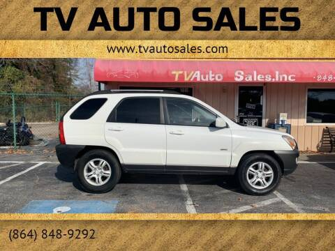 2005 Kia Sportage for sale at TV Auto Sales in Greer SC