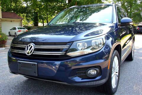 2012 Volkswagen Tiguan for sale at Prime Auto Sales LLC in Virginia Beach VA