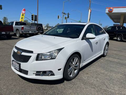 2012 Chevrolet Cruze for sale at Deruelle's Auto Sales in Shingle Springs CA