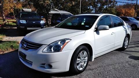 2011 Nissan Altima for sale at John 3:16 Motors in San Antonio TX