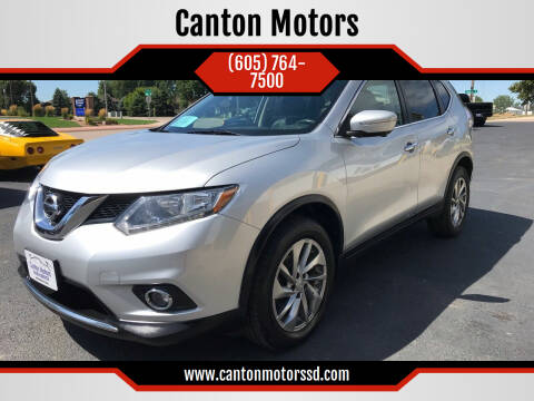2014 Nissan Rogue for sale at Canton Motors in Canton SD