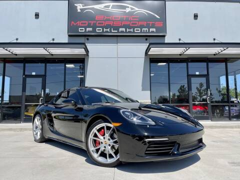2017 Porsche 718 Cayman for sale at Exotic Motorsports of Oklahoma in Edmond OK