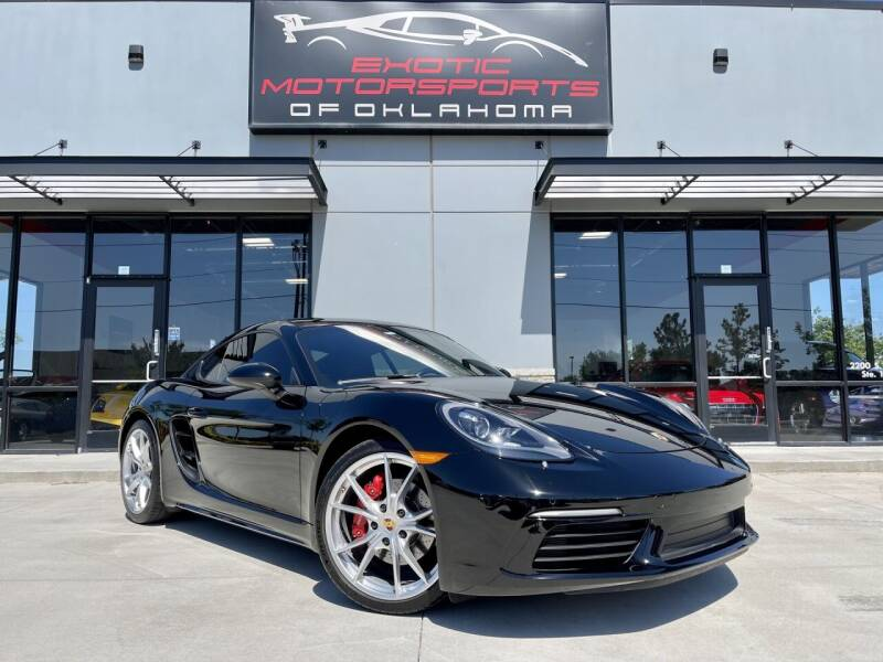 2017 Porsche 718 Cayman for sale in Edmond, OK