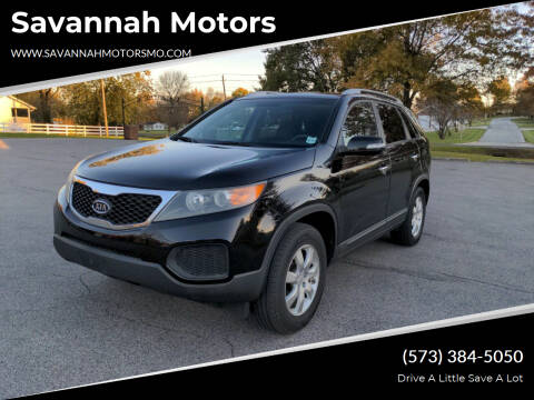 2011 Kia Sorento for sale at Savannah Motors in Elsberry MO