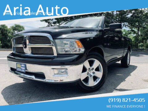 2010 Dodge Ram Pickup 1500 for sale at ARIA  AUTO  SALES in Raleigh NC