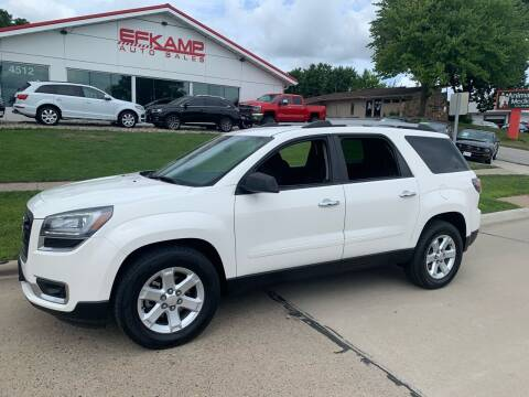 2015 GMC Acadia for sale at Efkamp Auto Sales LLC in Des Moines IA