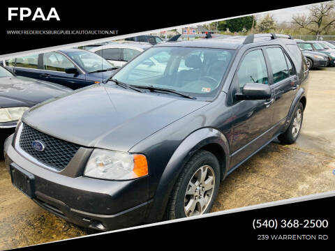 2005 Ford Freestyle for sale at FPAA in Fredericksburg VA
