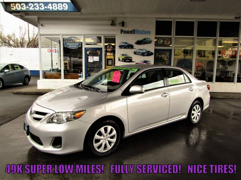 2011 Toyota Corolla for sale at Powell Motors Inc in Portland OR
