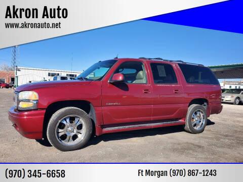 2004 GMC Yukon XL for sale at Akron Auto in Akron CO