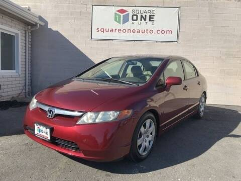 2007 Honda Civic for sale at SQUARE ONE AUTO LLC in Murray UT