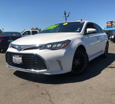2016 Toyota Avalon for sale at LUGO AUTO GROUP in Sacramento CA