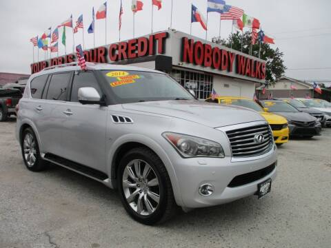 2014 Infiniti QX80 for sale at Giant Auto Mart 2 in Houston TX