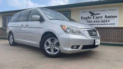 2010 Honda Odyssey for sale at Eagle Care Autos in Mcpherson KS