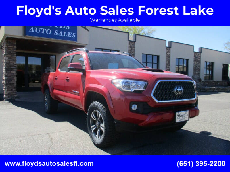 2018 Toyota Tacoma for sale at Floyd's Auto Sales Forest Lake in Forest Lake MN