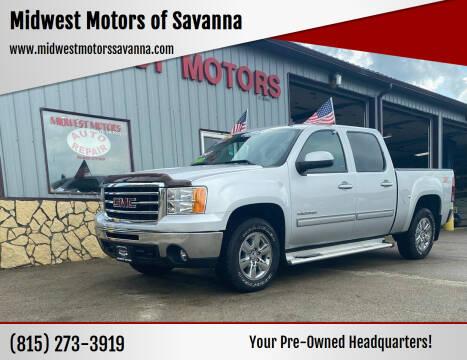 2013 GMC Sierra 1500 for sale at Midwest Motors of Savanna in Savanna IL