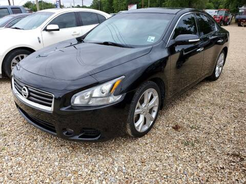2012 Nissan Maxima for sale at Community Auto Specialist in Gonzales LA