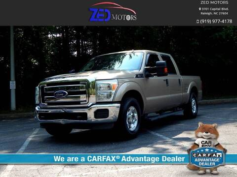 2011 Ford F-250 Super Duty for sale at Zed Motors in Raleigh NC