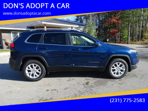 2018 Jeep Cherokee for sale at DON'S ADOPT A CAR in Cadillac MI