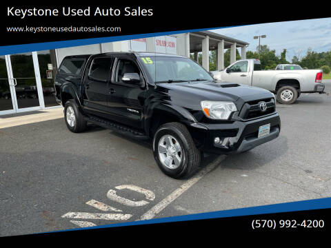2015 Toyota Tacoma for sale at Keystone Used Auto Sales in Brodheadsville PA