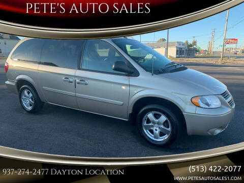 2006 Dodge Grand Caravan for sale at PETE'S AUTO SALES - Dayton in Dayton OH