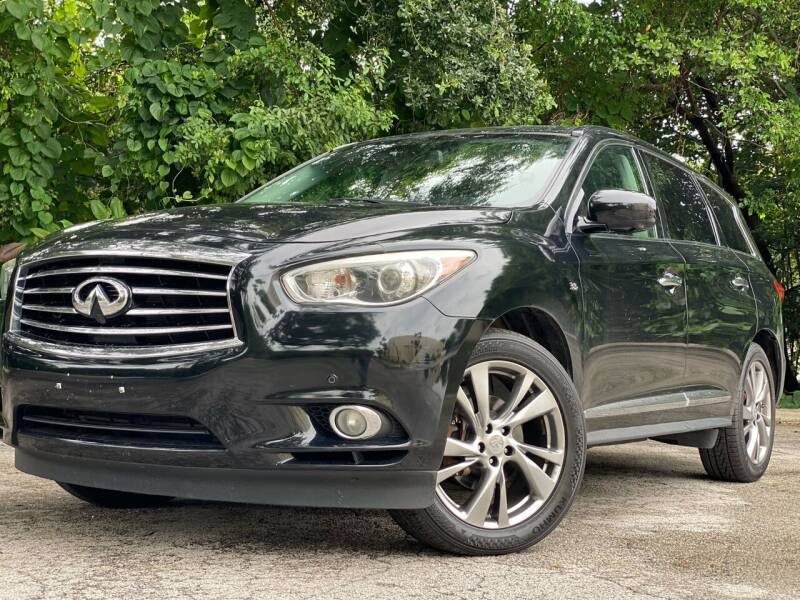 2014 Infiniti QX60 for sale at HIGH PERFORMANCE MOTORS in Hollywood FL
