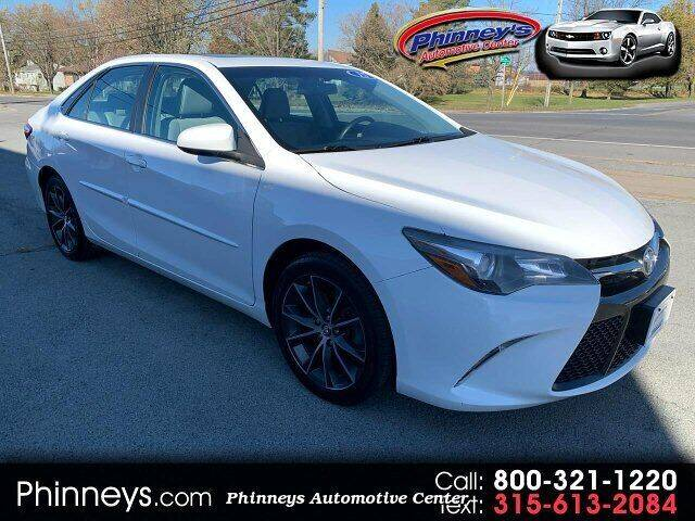 2015 Toyota Camry for sale at Phinney's Automotive Center in Clayton NY