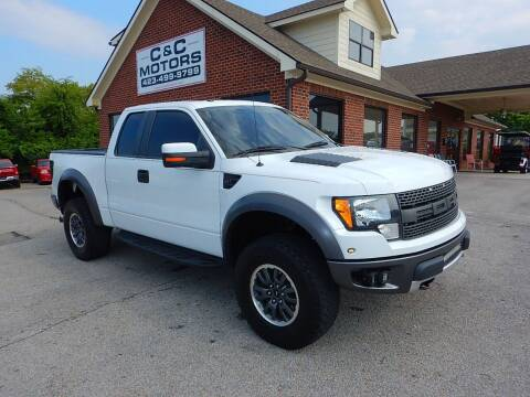 2010 Ford F-150 for sale at C & C MOTORS in Chattanooga TN