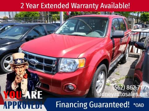 2010 Ford Escape for sale at Sidney Auto Sales in Downey CA