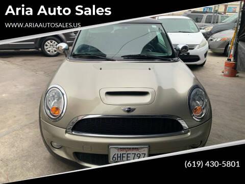 2009 MINI Cooper for sale at Aria Auto Sales in El Cajon CA