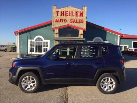 2016 Jeep Renegade for sale at THEILEN AUTO SALES in Clear Lake IA
