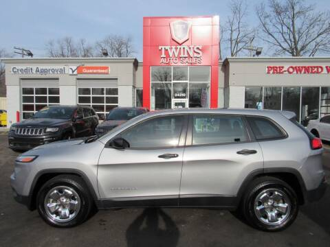 2015 Jeep Cherokee for sale at Twins Auto Sales Inc in Detroit MI