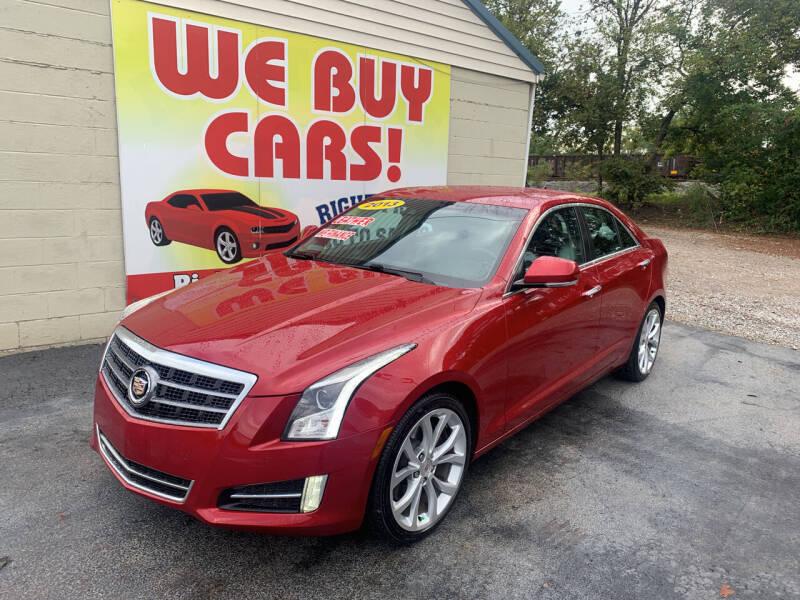 2013 Cadillac ATS for sale at Right Price Auto Sales in Murfreesboro TN