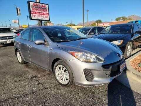 2012 Mazda MAZDA3 for sale at ATLAS MOTORS INC in Salt Lake City UT