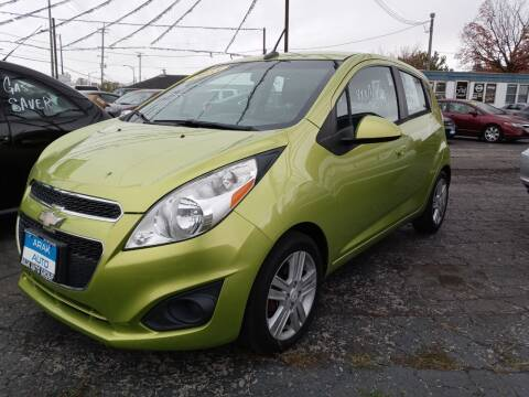 2013 Chevrolet Spark for sale at Arak Auto Group in Bourbonnais IL