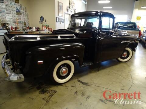 1955 Chevrolet 3100 for sale at Garrett Classics in Lewisville TX