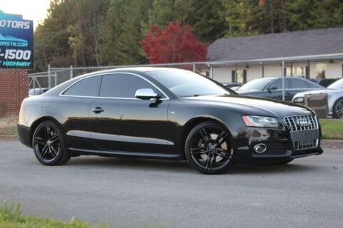 2010 Audi S5 for sale at Skyline Motors in Louisville TN