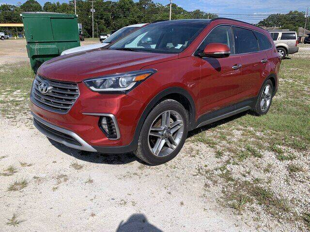 2017 Hyundai Santa Fe for sale at CROWN  DODGE CHRYSLER JEEP RAM FIAT in Pascagoula MS